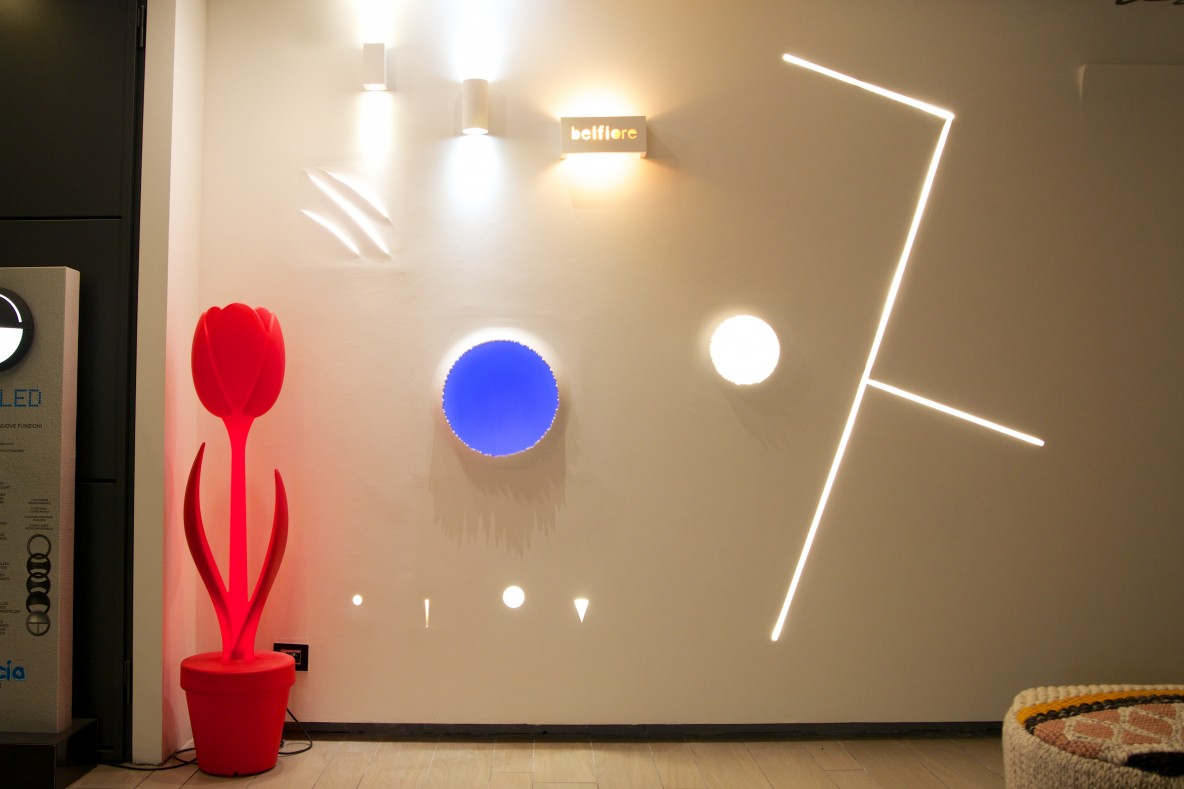 Faretti in gesso Lighting Design