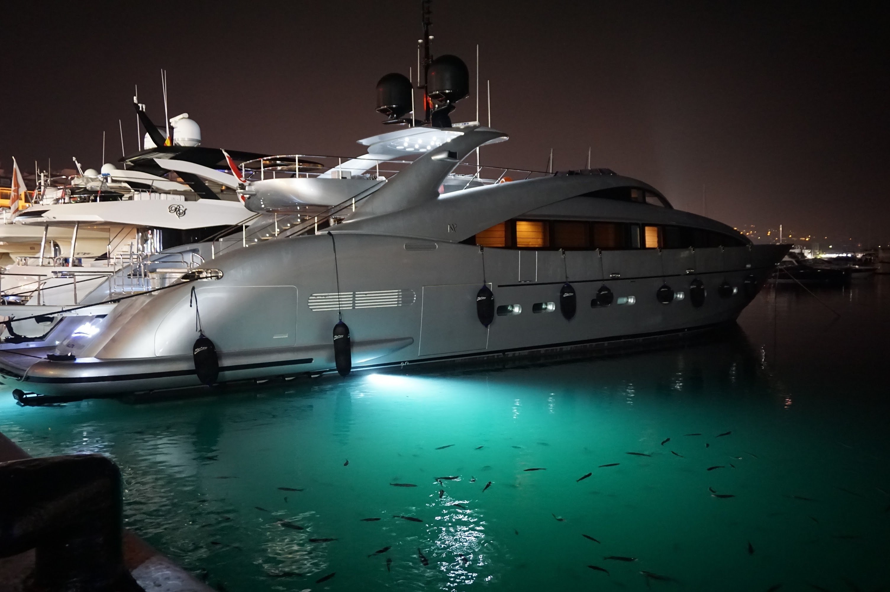 Illuminazione yacht - Lighting Design